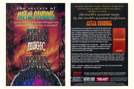 DVD The Secrets of Metal bending