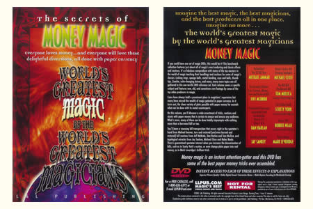 DVD The Secrets of Money magic