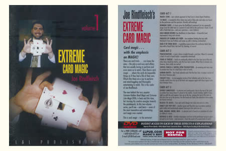 DVD Extreme Card Magic (Vol.1)