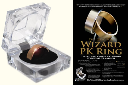 Wizard PK Ring - Dorado (25 mm)
